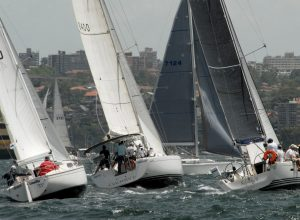 SASC Sunday series racing, 16 December 2018 - Start of the non-spinnaker division